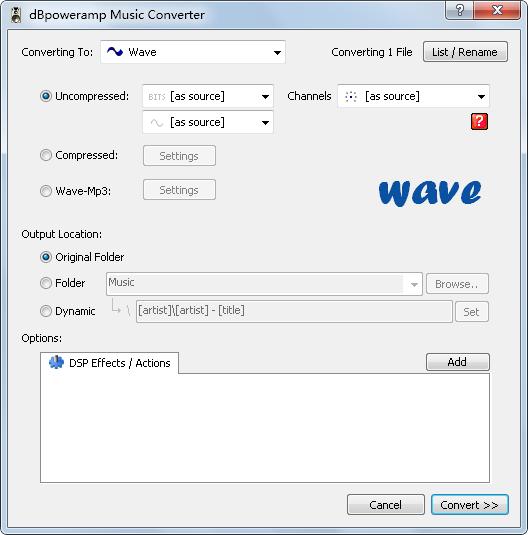 dBpowerAMP Music Converter(音乐转换器) V15.3 英文版