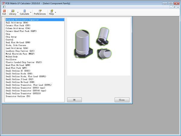 PCB封装计算器(PCB Matrix IPC LP Calculator) V1.0