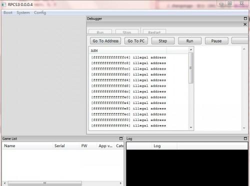 Rpcs3(PS3模拟器) V0.02 英文版