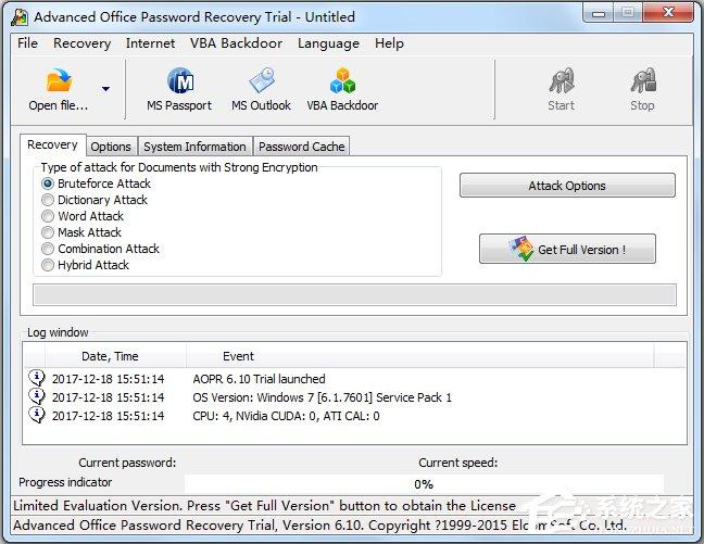 Advanced Office Password Recovery(Office密码破解) V6.10.885 英文版