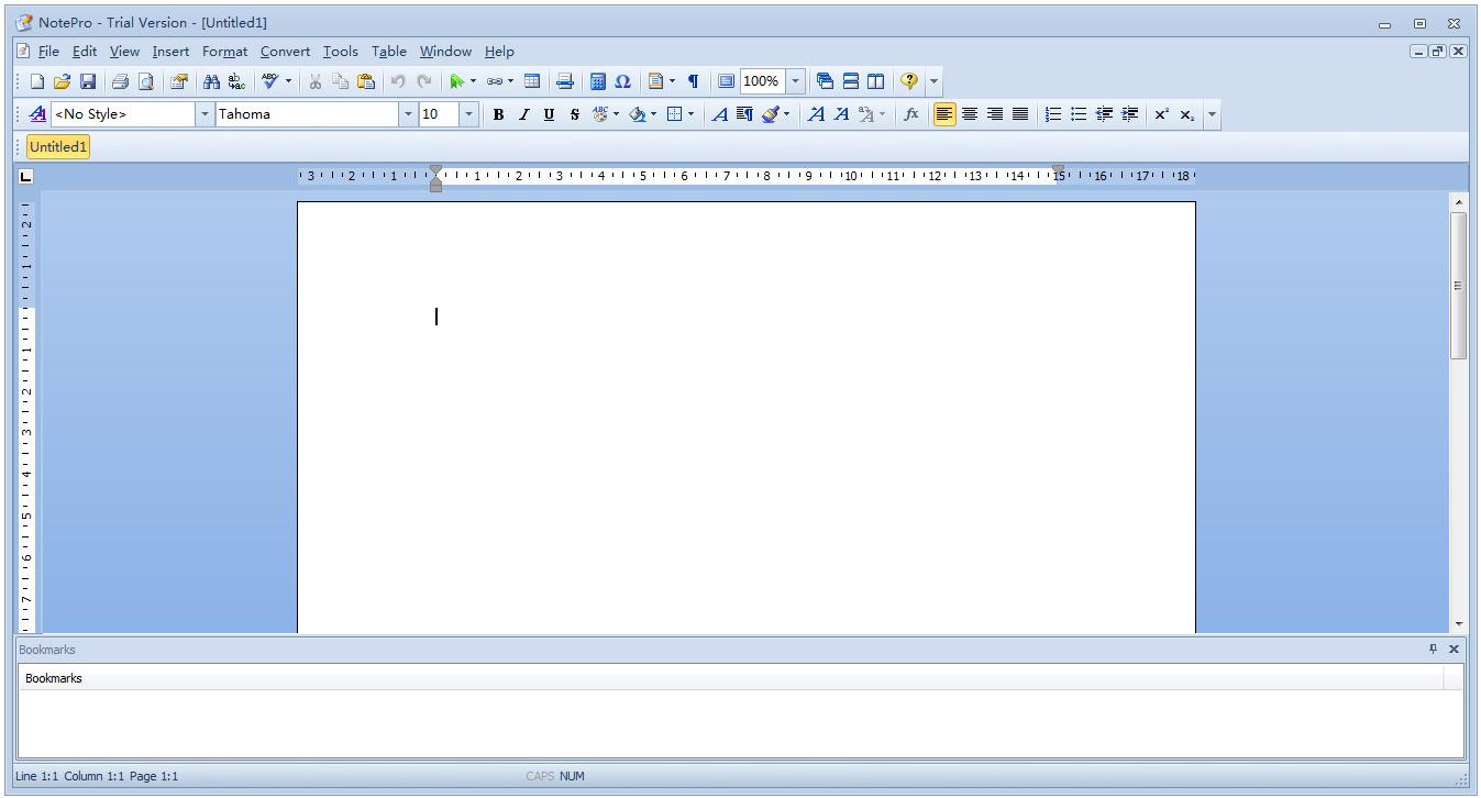 NotePro(写字板替代软件) V4.5 英文官方版