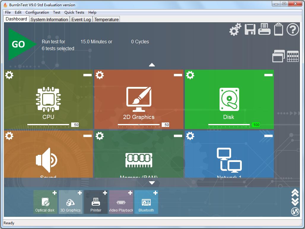 PassMark BurnInTest Pro(测试系统软件) V9.0.1000 英文版