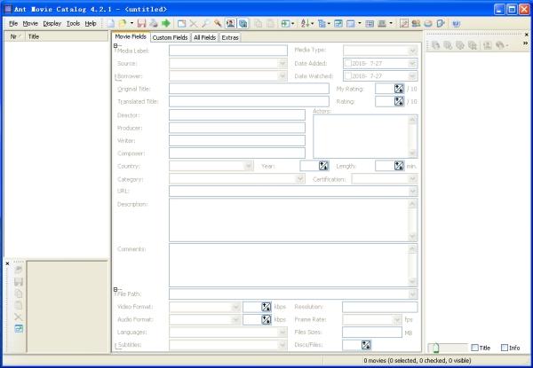 Ant Movie Caralog(媒体管理系统)V4.2.1 绿色版