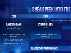 Intel:2019年下半年发布10nm处理器