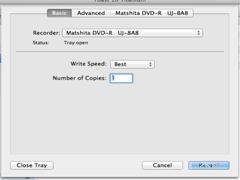 Mac使用Toast刻录光盘的方法