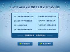 GHOST WIN8 X86 装机专业版 V2017.05(32位)
