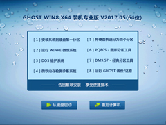 GHOST WIN8 X64 装机专业版 V2017.05(64位)
