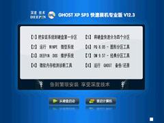 深度技术 GHOST XP SP3 快速装机专业版 V2012.03